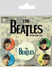 Beatles Fab Four Badge Pack